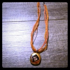 Jewelry - Orange necklace.  NWOT. Very pretty.
